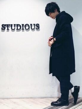 STUDIOUS MENS ルミネエスト新宿店|みっきーさんの(Name.|ネーム)を使ったコーディネート