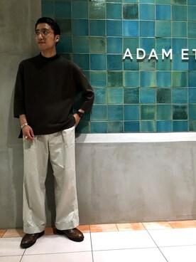 ADAM ET ROPE' 名古屋PARCO|西川卓さんの(ts(s)|ティーエスエス)を使ったコーディネート