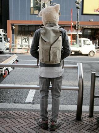 Revelations/|ザッシュ(仮称)さんの「narifuri Celspun HATENA backpack(narifuri|ナリフリ)」を使ったコーディネート