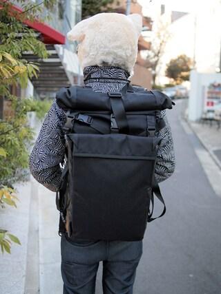 Revelations/|ザッシュ(仮称)さんの「beruf baggage STREET BACKPACK(beruf baggage|ベルーフ バゲッジ)」を使ったコーディネート
