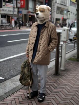 "Revelations/|ザッシュ(仮称)さんの「narifuri Heavy mesh day pack ""MIL SPEC Collection""(narifuri|ナリフリ)」を使ったコーディネート"