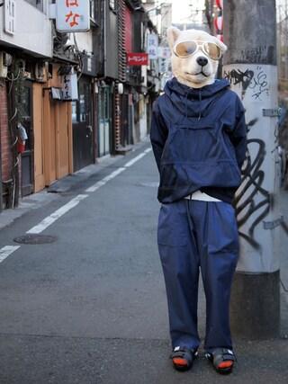 Revelations/|ザッシュ(仮称)さんの「Name. With Tomo&co AIR SOLE SANDAL 【Revelations/別注カラーあり】(Name.|ネーム)」を使ったコーディネート
