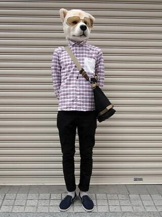 Revelations/|ザッシュ(仮称)さんの「narifuri Weekend shoulder bag(narifuri|ナリフリ)」を使ったコーディネート