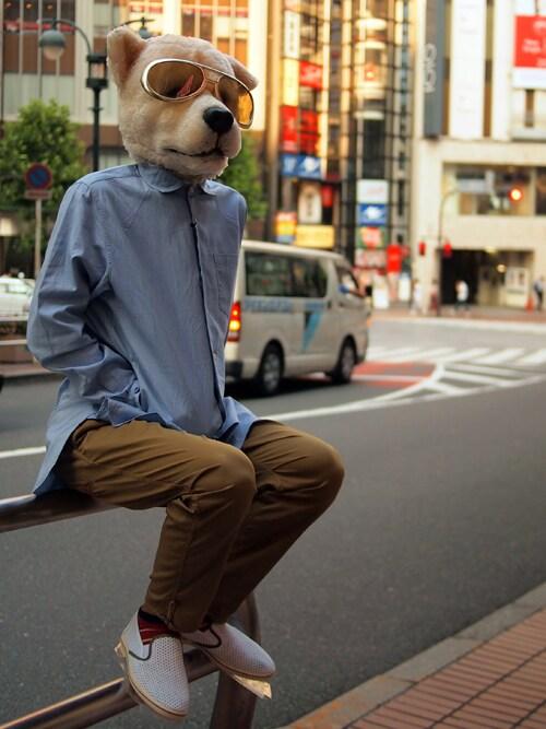 ザッシュ(仮称)さんの「narifuri Qualite long pants(narifuri)」を使ったコーディネート