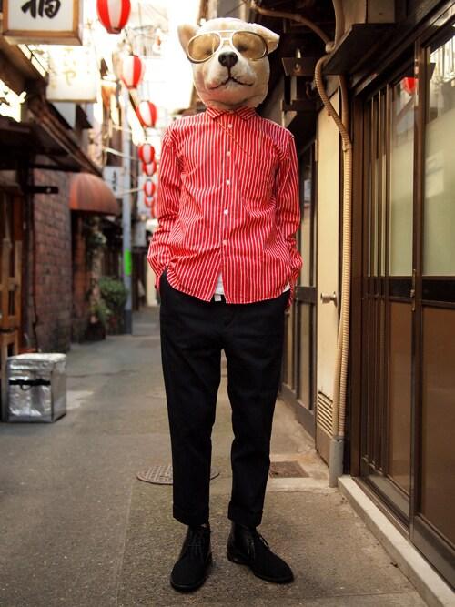 ザッシュ(仮称)さんの「KIDS LOVE GAITE × insane Chukka boots【Limited】(KIDS LOVE GAITE)」を使ったコーディネート