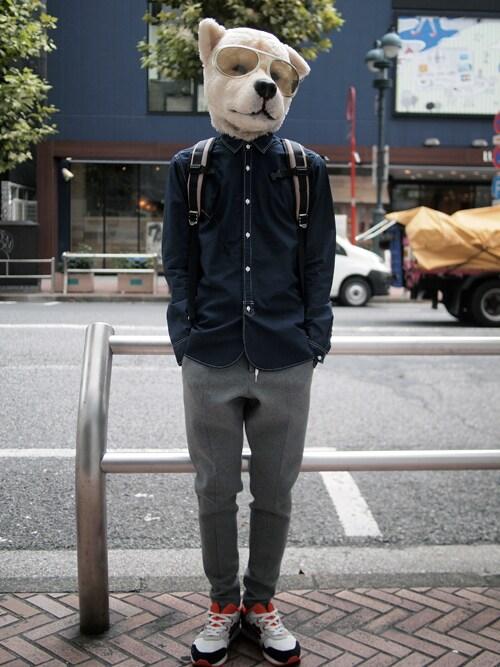 ザッシュ(仮称)さんの「narifuri Back pack S(narifuri)」を使ったコーディネート