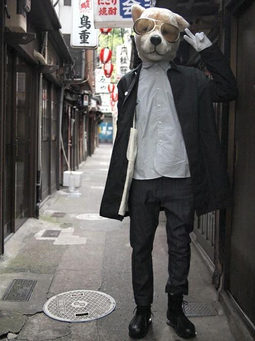 ザッシュ(仮称)さんの「Name. Tomo&co AIR SOLE BOOTS(Name.)」を使ったコーディネート