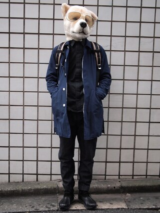 Revelations/|ザッシュ(仮称)さんの「Name. Tomo&co AIR SOLE BOOTS(Name.|ネーム)」を使ったコーディネート