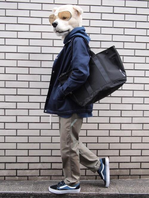 ザッシュ(仮称)さんの「【Revelation/別注】 narifuri Tote bag(narifuri)」を使ったコーディネート