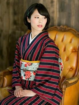 京都きもの町|京都きもの町さんの(kimonomachi|キモノマチ)を使ったコーディネート