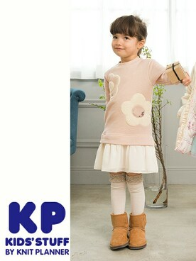 「ラメ入りトレーナーのワンピース(KP)」 using this KP Oficial|KPOfficial looks