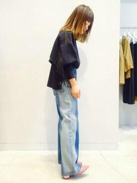 EN ROUTE FUTAKOTAMAGAWA|N.Numataさんの「SERGE de blue(サージ) SUN BURN BAGGY PANTS(EN ROUTE)」を使ったコーディネート