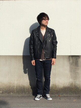kotaro tsunekawaさんの(H&M|ヘンネスアンドモーリッツ)を使ったコーディネート