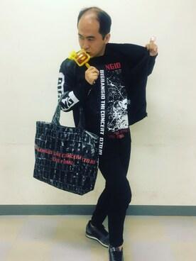トレンディエンジェル 斎藤さんの(BIGBANG)を使ったコーディネート