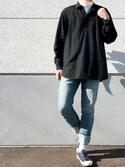 だいちゃん☆さんの「A.P.C. Petit New Standard Stretch(A.P.C.|アー・ペー・セー)」を使ったコーディネート