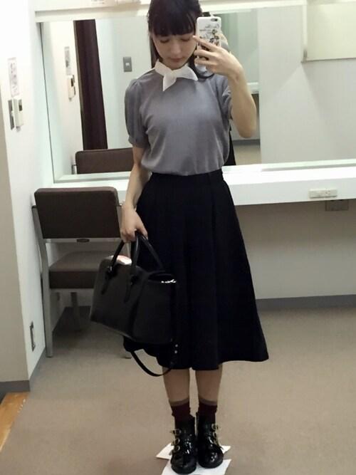 神田沙也加コーデ