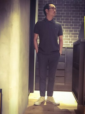 FRED PERRY 柏高島屋ステーションモール|takeshiさんの(FRED PERRY|フレッドペリー)を使ったコーディネート