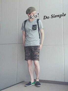 k!o!さんの(NIKE ナイキ)を使ったコーディネート