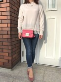 「Furla Metropolis Mini Cross Body Bag(Furla)」 using this yui♡ looks