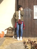 「FOREVER 21 Boxy Plaid Flannel Shirt(Forever 21)」 using this piroyama looks