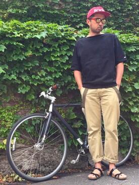 GU IMDチーム|Ryugo Saishuさんの(Selima Optique|セリマ オプティーク)を使ったコーディネート