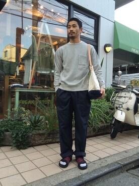 FREAKS STORE 原宿店|岩井一真さんの(MONITALY)を使ったコーディネート