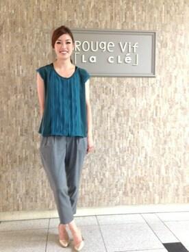 chiaki│Rouge vifのシャツ・ブラウスコーディネート