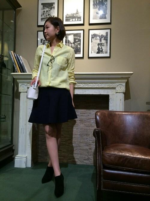 chiakiさんの「ニットセットアップスカート(Rouge vif)」を使ったコーディネート