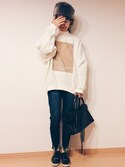 「Acne Studios Beta Flock Sweatshirt(Acne Studios)」 using this sanae☆ looks