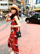 山野ゆりさんの「PEACOCK DRESS F(MOUSSY マウジー)」を使ったコーディネート