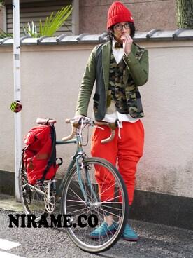 NIRAME.CO|NIRAME.COさんの(NIRAME.CO)を使ったコーディネート
