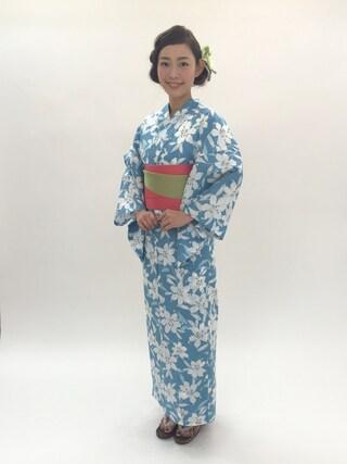 阿久津ゆりえさんの(三松)を使ったコーディネート