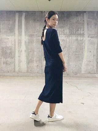 阿久津ゆりえさんの「adidas / STAN SMITH TF【SP】(adidas アディダス)」を使ったコーディネート