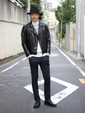 MEN'S BIGI HEAD OFFICE|shunsuke.Hさんの(glory crew|グローリー クルー)を使ったコーディネート