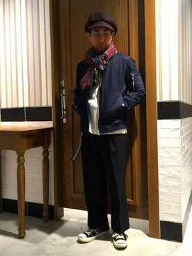 RAGEBLUE札幌ピヴォ店 GENさんの(RAGEBLUE レイジブルー)を使ったコーディネート