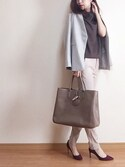 「Longchamp 'Roseau - Heritage' Tote(Longchamp)」 using this ropia looks