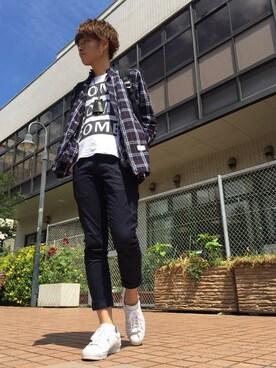 STUDIOUS ルミネ池袋店|Ryoさんの(Name.|ネーム)を使ったコーディネート