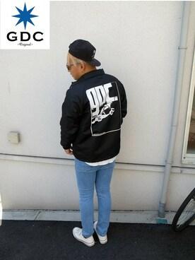 GDC TOKYO|GDCTOKYO -竜以さんの「CRASH COACH JACKET(GDC)」を使ったコーディネート
