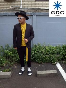 GDC TOKYO|GDCTOKYO -竜以さんの「WIDE FELT HAT(GDC)」を使ったコーディネート