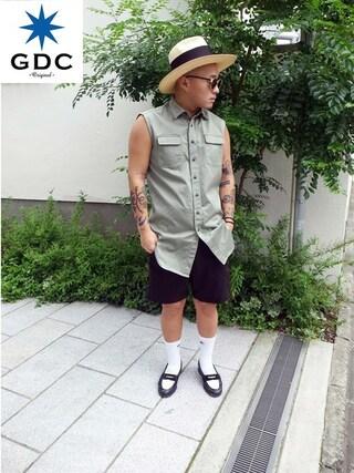 GDC TOKYO|GDCTOKYO -竜以さんの(GDC|ジーディーシー)を使ったコーディネート