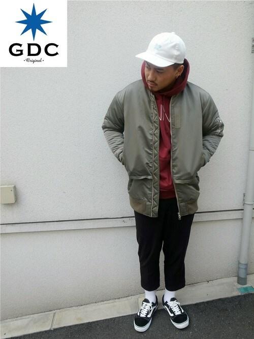GDCTOKYO -HARAさんの「LONG MA-1(GDC)」を使ったコーディネート