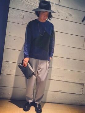 STUDIOUS LAB.|糸魚川 領太さんの(KIDS LOVE GAITE|キッズラブゲイト)を使ったコーディネート