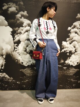 MIDWEST NAGOYA MEN|ホリユキノさんの(muller of yoshiokubo|ミッドウエスト)を使ったコーディネート