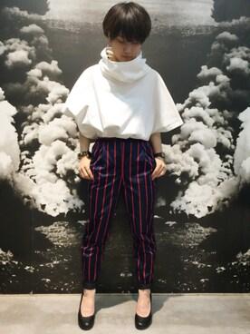 MIDWEST NAGOYA MEN|ホリユキノさんの(muller of yoshiokubo|ミュラー オブ ヨシオクボ)を使ったコーディネート