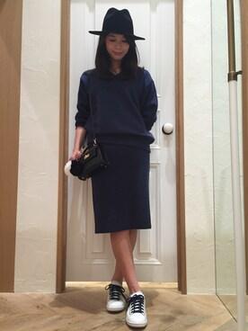 Mila Owen|masano omayaさんの「RIBタイトSK(Mila Owen)」を使ったコーディネート