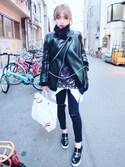 「Stella McCartney Stella Mccartney Embellished Velvet Platform Sneakers(Stella McCartney)」 using this Kitty Mikako looks