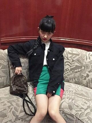 Mappyさんの「ジャケット(DKNY|ディーケーエヌワイ)」を使ったコーディネート