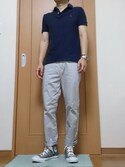 「Polo Ralph Lauren Plain Logo Slim Fit Polo(Polo Ralph Lauren)」 using this こう looks