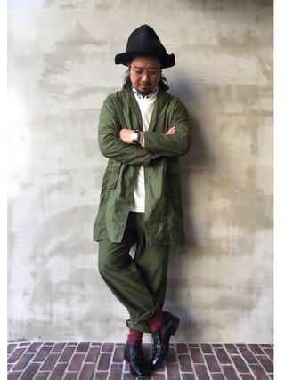 OTOGI_Fukuokaさんの(VOO ヴォー)を使ったコーディネート