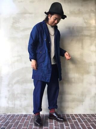OTOGI_Fukuokaさんの(NATIVE SONS ネイティブ サンズ)を使ったコーディネート